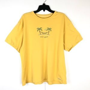 LIFE IS GOOD GRAPHIC T-SHIRT (XL)